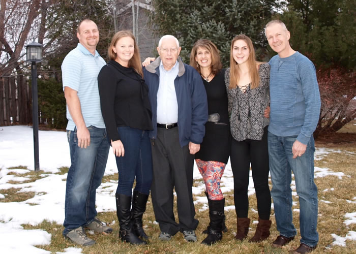 Most of our family gathered in 2016 with our remaining patriarch, Grandpa Paul
